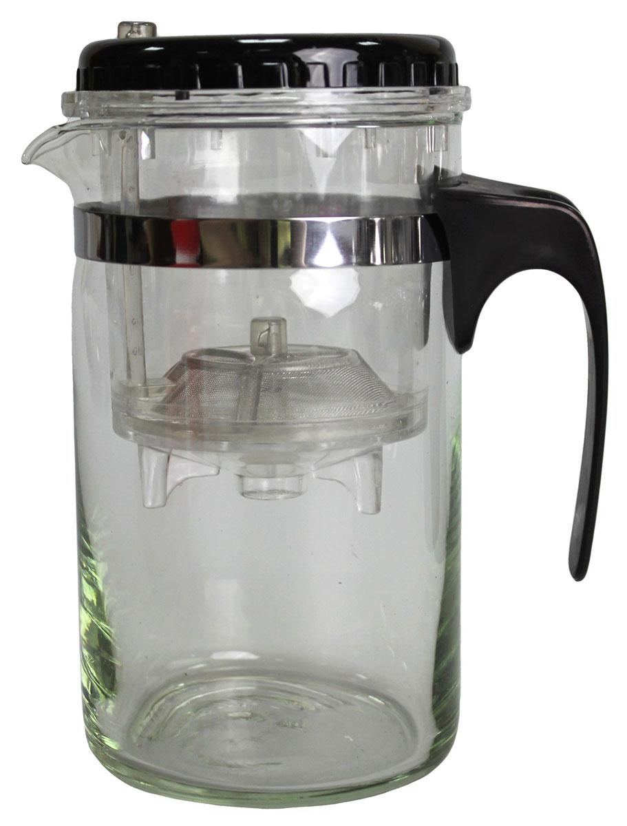 Френч-пресс N/N, 500 мл850118Френч-пресс 500 мл изготовлен из пластика и жаропрочного стекла. Фильтр из нержавеющей стали. Френч-пресс позволит быстро и просто приготовить свежий и ароматный кофе или чай.