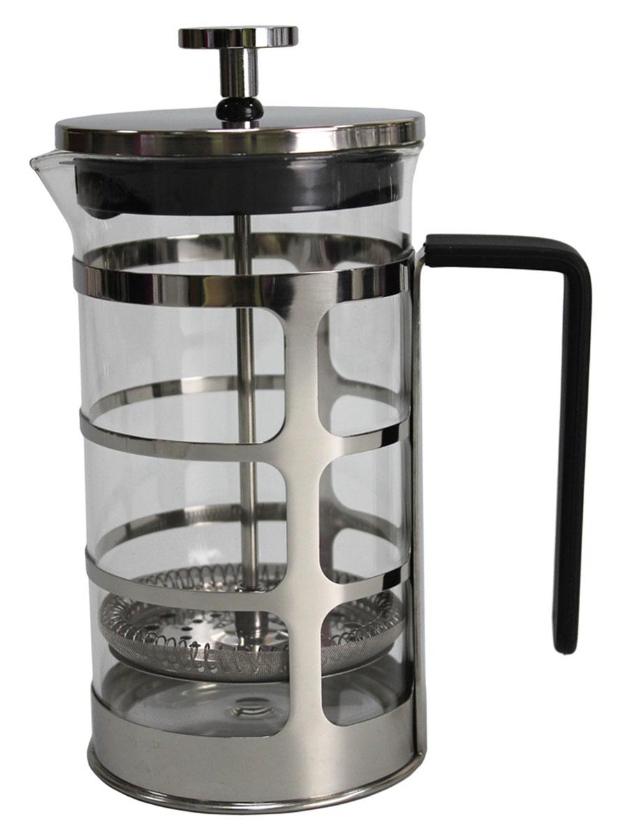 Френч-пресс Vetta Ферран, 600 мл850144Френч-пресс Vetta Ферран 600 мл изготовлен из нержавеющей стали и жаропрочного стекла. Фильтр из нержавеющей стали. Френч-пресс позволит быстро и просто приготовить свежий и ароматный кофе или чай.