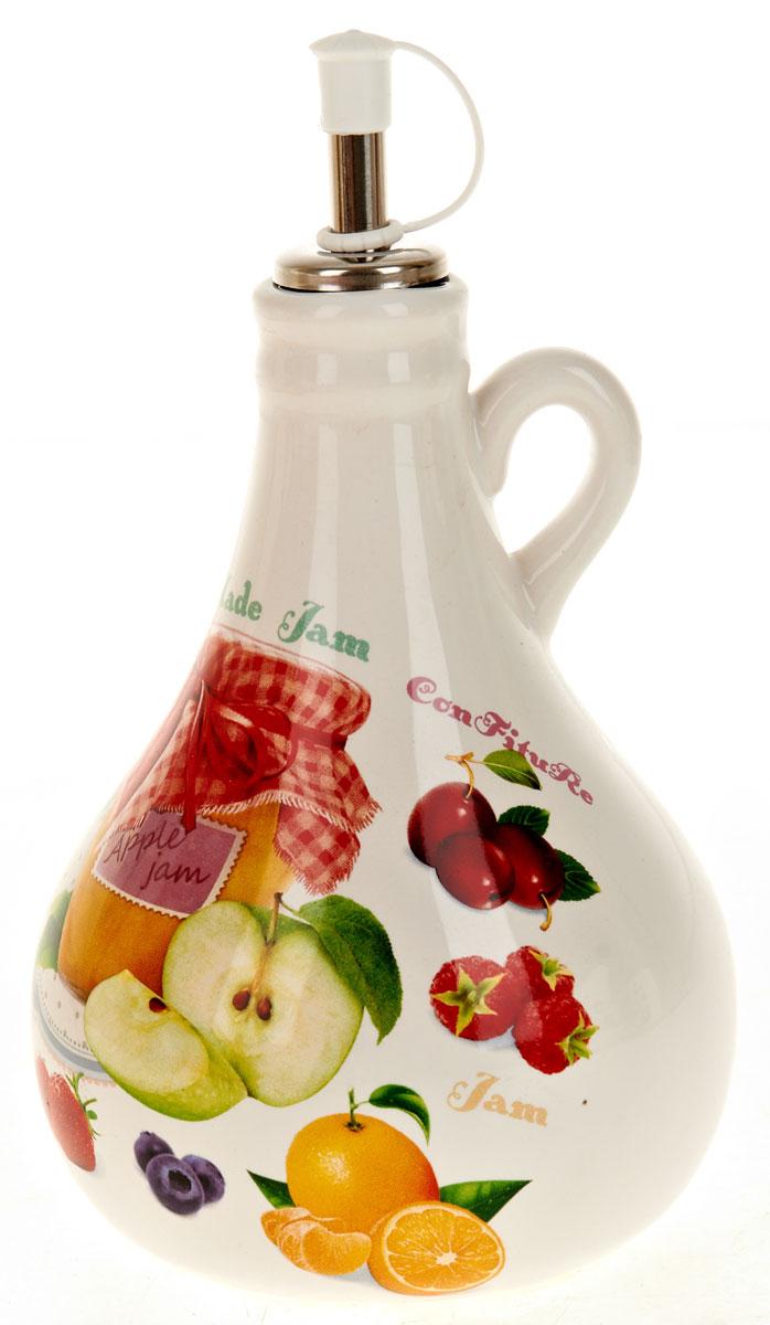 Бутылка для масла Polystar Джем, 550 млL2430704Бутылка для масла, выполненная из доломита, предназначена для хранения масла или уксуса. Горлышко оснащено металлической крышкой с силиконовым уплотнителем. Вы нальете ровно столько масла, сколько нужно, не уронив ни одной лишней капли, ведь крышка с носиком снабжена специальным клапаном. Стенки бутылки светонепроницаемые, поэтому ее можно хранить в открытом шкафу, не волнуясь, что ваше лучшее оливковое масло потеряет вкус и аромат. Можно использовать в микроволновой печи и мыть в посудомоечной машине.