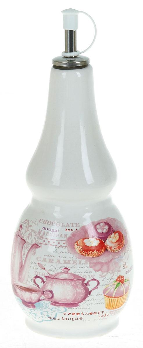 Бутылка для масла Polystar Бисквит, 550 млL3170219Бутылка для масла, выполненная из доломита, предназначена для хранения масла или уксуса. Горлышко оснащено металлической крышкой с силиконовым уплотнителем. Вы нальете ровно столько масла, сколько нужно, не уронив ни одной лишней капли, ведь крышка с носиком снабжена специальным клапаном. Стенки бутылки светонепроницаемые, поэтому ее можно хранить в открытом шкафу, не волнуясь, что ваше лучшее оливковое масло потеряет вкус и аромат. Можно использовать в микроволновой печи и мыть в посудомоечной машине.