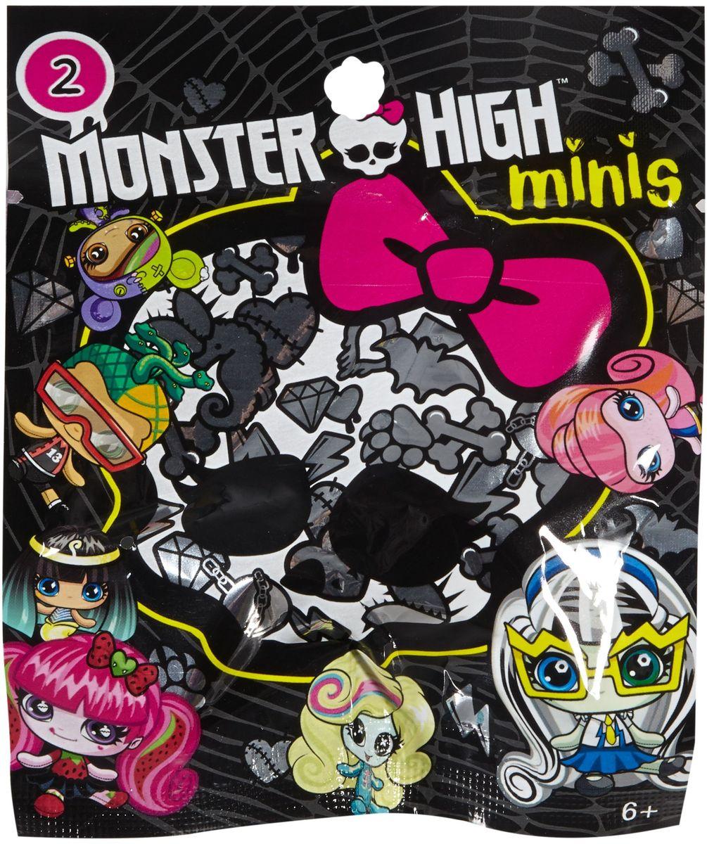 Monster High Мини-фигурка FCB75FCB75Мини-фигурки Monster High ужасно милые, ну просто до такой степени, что вам сразу захочется собрать их все! У каждой маленькой фигурки свой фирменный стиль с монструозными деталями. Каждый наряд уникален, все прически убийственно прекрасны! Ищите любимых персонажей, собирайте уникальные темы Monster High.