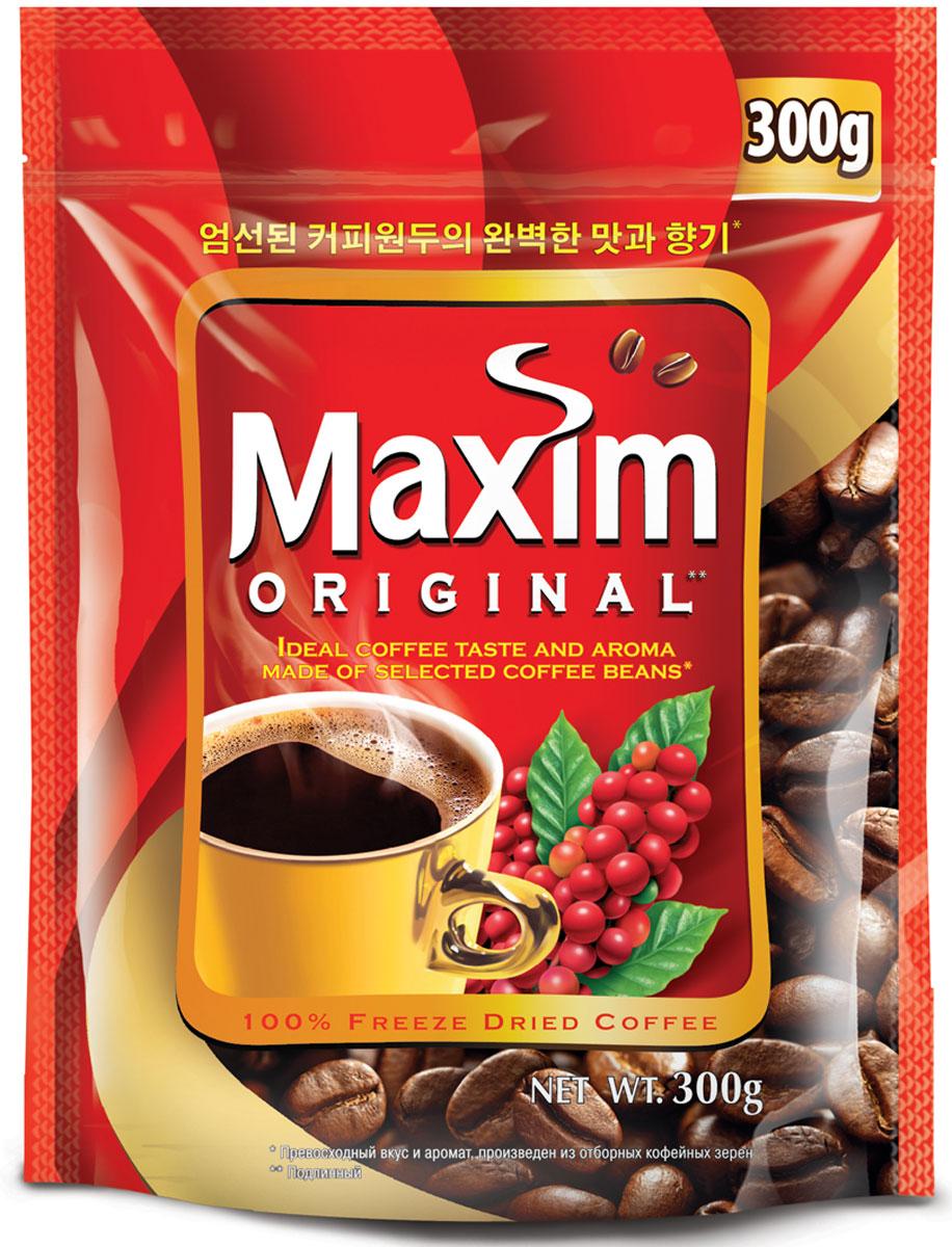 Maxim кофе натуральный растворимый сублимированный, 300 г4251185Maxim – это сублимированный кофе высокого качества по доступной цене. Это бренд #2 в Сибири и на Дальнем Востоке. Ведет свою историю с 1971 года. Представлен двумя вкусами – Original и Mild. Maxim Original - это идеально сбалансированный вкус и притягательный аромат, приготовлен из отборных кофейных зёрен.