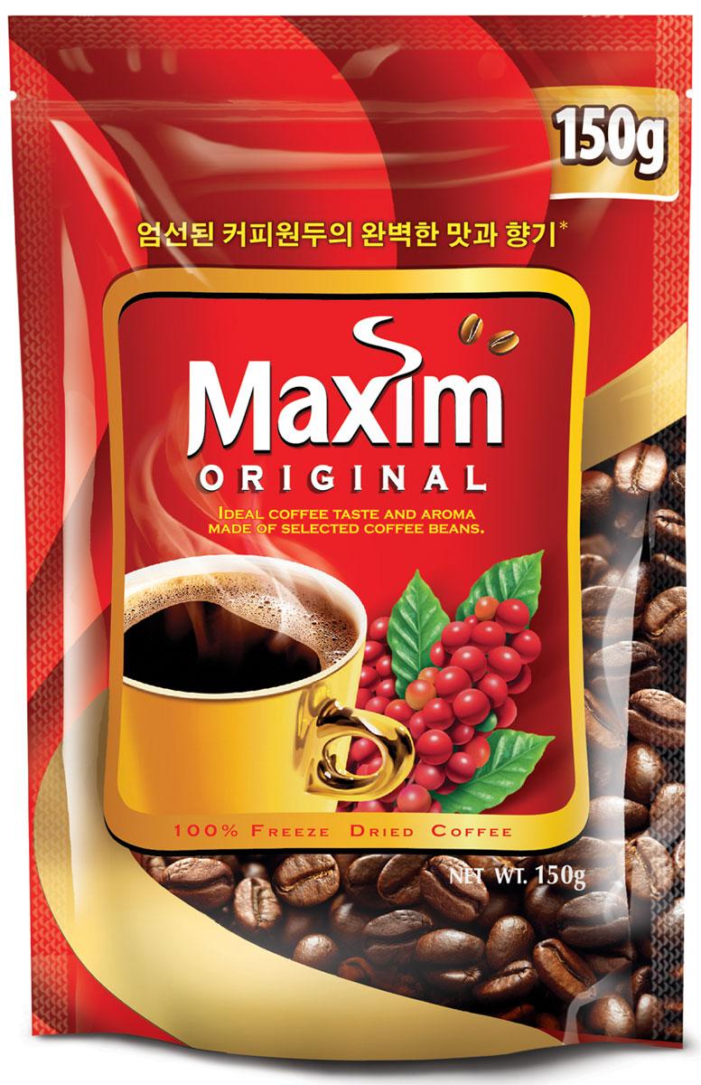 Maxim кофе натуральный растворимый сублимированный, 150 г4251201Maxim – это сублимированный кофе высокого качества по доступной цене. Это бренд #2 в Сибири и на Дальнем Востоке. Ведет свою историю с 1971 года. Представлен двумя вкусами – Original и Mild. Maxim Original - это идеально сбалансированный вкус и притягательный аромат, приготовлен из отборных кофейных зёрен.