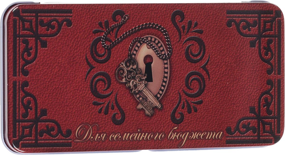 Коробка подарочная Феникс-Презент Замочная скважина, 16,6 х 7,6 х 1 см43675Подарочная коробка Феникс-Презент Замочная скважина выполнена из черного окрашенного металла и украшена яркой картинкой, соответствующей событию, для которого предназначена. Подарочная коробка для денег - это наилучшее решение, если вы хотите порадовать ваших близких и создать праздничное настроение, ведь денежный подарок, преподнесенный в оригинальной коробке, всегда будет эффектным и запоминающимся.