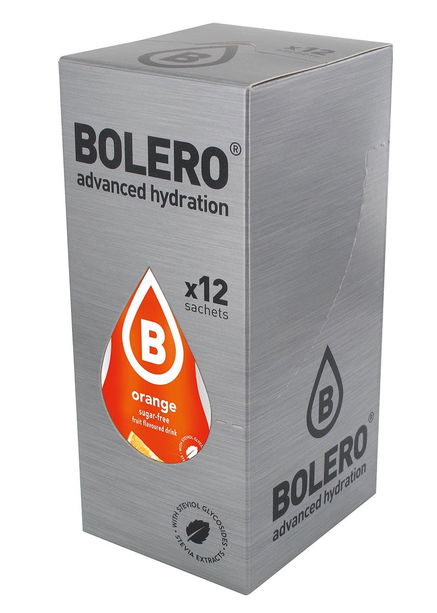 "Напиток быстрорастворимый Bolero ""Orange / Апельсин"", 9 г х 12 шт ЦБ-00003110"