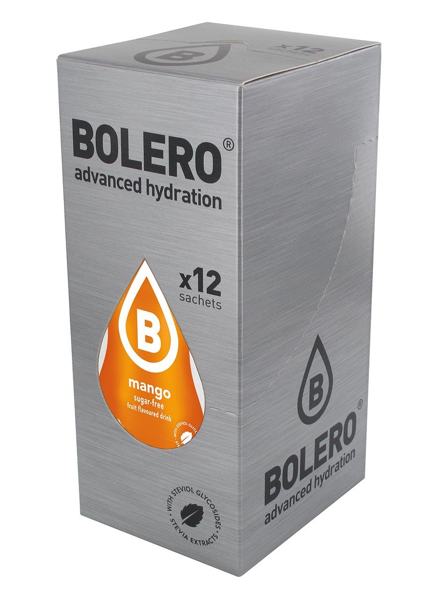 """Напиток быстрорастворимый Bolero """"Mango / Манго"""", 9 г х 12 шт ЦБ-00003118"""