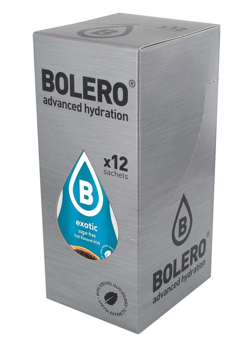 Напиток быстрорастворимый Bolero Exotic / Экзотические фрукты, 9 г х 12 штЦБ-00003140Что же такое Bolero Drinks? В первую очередь это - вкусовая добавка без сахара, без глютена, без жиров и углеводов. Bolero Drinks – это мгновенные напитки, которые не содержат сахар, не содержат лактозы, не содержат консервантов, не содержат глютен, не содержат искусственных вкусовых и цветообразующих добавок!!!!!!! Каждый пакетик Bolero Drinks на Стивии весит 9 г, и его достаточно, чтобы подготовить 1,5-2 литра сока, в зависимости от вашего желания. Эти маленькие пакетики очень удобно носить с собой, и подготовка натурального напитка проста - просто добавьте в 1,5-2 литра холодной воды и размешайте. Но Bolero Drinks – это не только напитки. Это великолепное дополнение к каше, творогу и другим субстанциям. Состав: Без добавления ГМО. Не содержит Глютен, без сахара. Кислоты: лимонная кислота, яблочная кислота, мальтодекстрин; ароматические и вкусовые вещества; L-аскорбиновая кислота. Натуральные ароматизаторы и подсластители: ацесульфам К,...