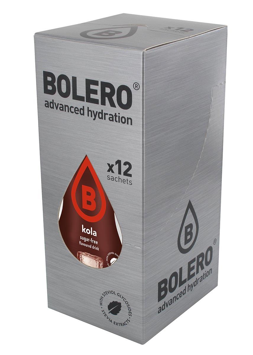 "Напиток быстрорастворимый Bolero ""Kola / Вкус колы"", 9 г х 12 шт ЦБ-00003149"