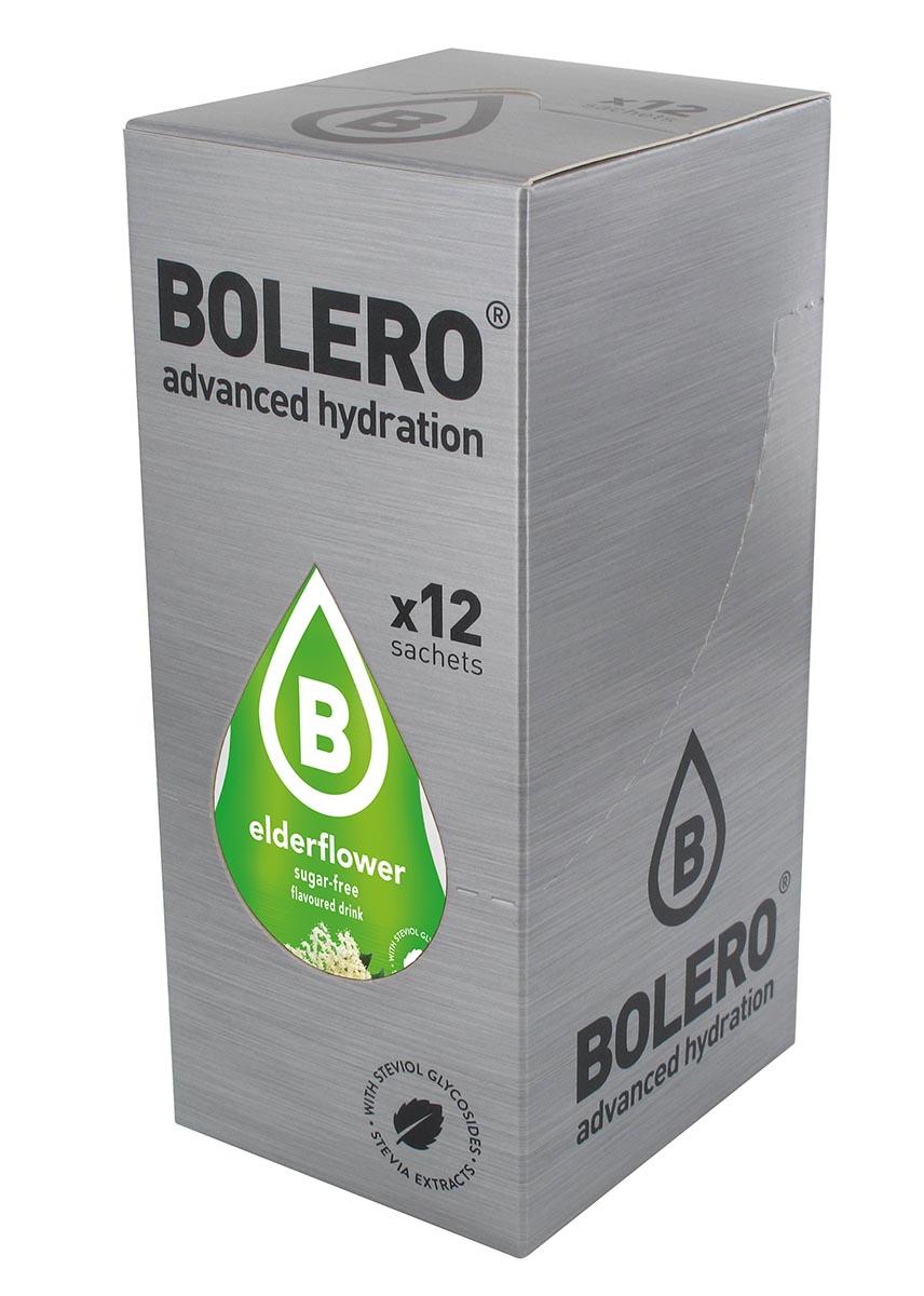 """Напиток быстрорастворимый Bolero """"Elderflower / Бузина"""", 9 г х 12 шт ЦБ-00003660"""