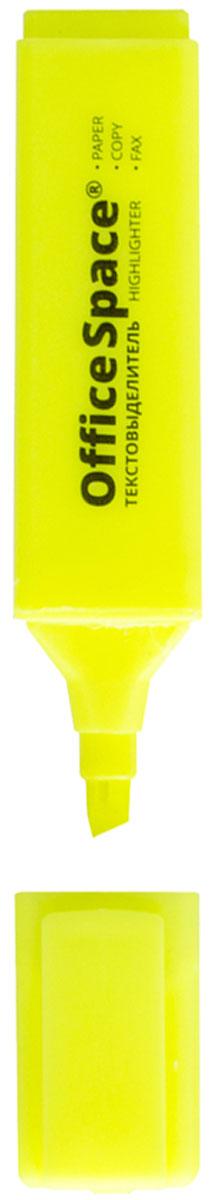 OfficeSpace Текстовыделитель цвет желтый H_260H_260Текстовыделитель OfficeSpace H_260 с флуоресцентными чернилами на водной основе. Удобный клип. Цвет колпачка и торцевого элемента соответствует цвету чернил. Скошенный наконечник, который помогает выделить текст толщиной линии от 1 до 5 мм. Цвет чернил - желтый.