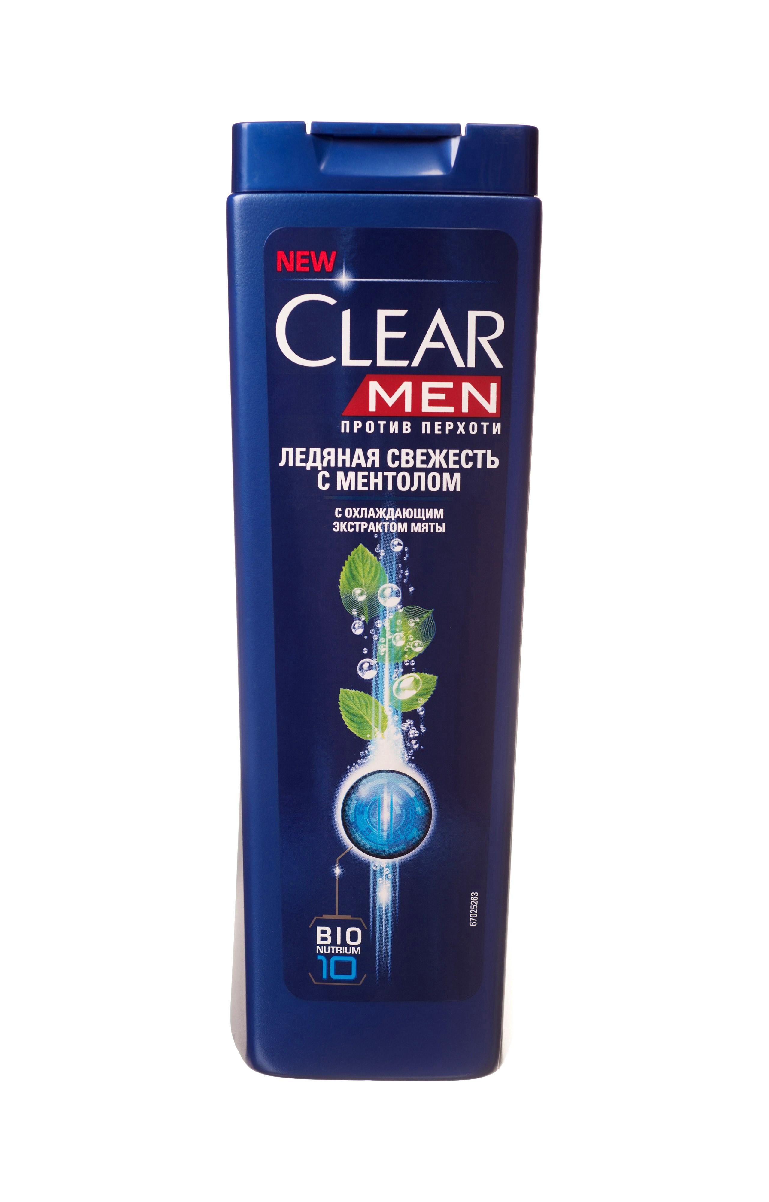 Clear Men Шампунь против перхоти Ледяная свежесть с ментолом 400 мл051750493Созданный специально для мужчин Шампунь Ледяная свежесть с ментолом и эвкалиптом обеспечивает двойное действие: унимает зуд и смягчает раздражение. Комплекс Nutrium 10, входящий в состав шампуня — это насыщенная смесь 10 питательных веществ и растительных активных компонентов. При регулярном применении он активирует естественный защитный слой против перхоти кожи головы, позволяя вам гарантированно защищаться от перхоти.