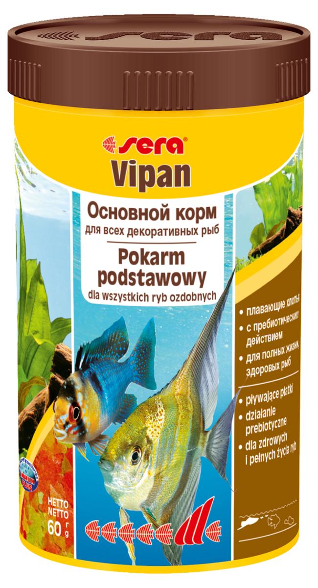 Корм для рыб Sera Vipan, 250 мл (60 г)0150Основной хлопьевидный корм для декоративных рыб в аквариумах со смешанным сообществом. Сбалансированный состав удовлетворяет потребности множества видов. Бережная обработка гарантирует сохранение ценных ингредиентов (например, жирных кислот Омега, витаминов и минералов). Метод его приготовления, применяемый фирмой sera, позволяет хлопьям сохранять свою форму в течение длительного времени, не загрязняя воду. Благодаря уникальной очень высокой степени измельчения, хлопья в тоже время очень нежны и поэтому охотно поедаются рыбой. Ингредиенты: рыбная мука, пшеничная мука, пивные дрожжи, казеинат кальция, гаммарус, яичный порошок, рыбий жир, маннан-олигосахарид (MOS 0,4%), спирулина, травы, люцерна, крапива, мука мука из зеленых губчатых молюсков, водоросли, зелень петрушки, перец, шпинат, чеснок, морковь. красители, разрешенные в ЕС. Кач. состав на кг: протеины 46,2%, жиры: 8,9%, клетчатка: 2,3%, зола: 11,9%, влажность: 6,7%, Вит А: 37000МЕ, Вит В1: 35мг, Вит В2: 90мг, Вит С: 550мг, Вит...