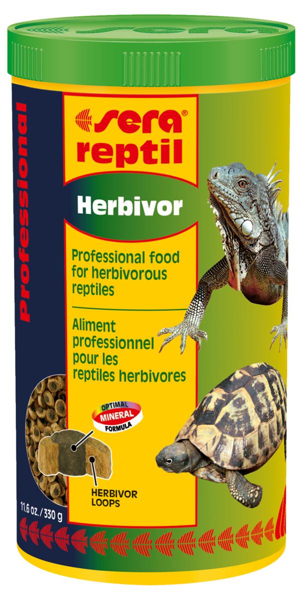 "Корм для рептилий Sera ""Reptil Professional Herbivor"", 1000 мл (330 г) 1812"