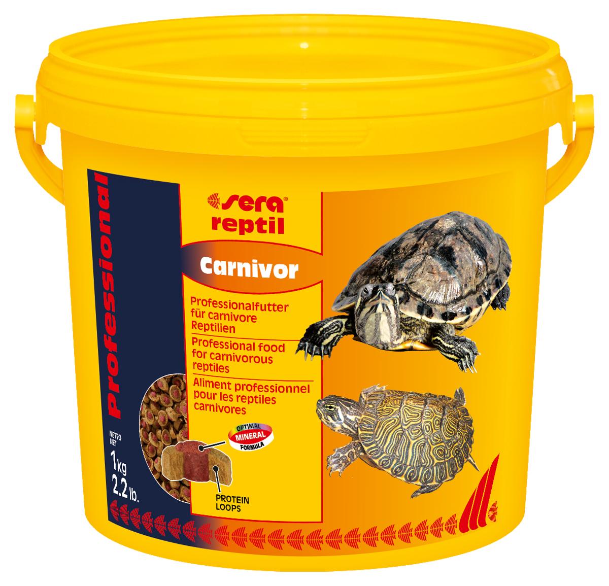 "Корм для рептилий Sera ""Reptil Professional Carnivor"", 3,8 л (1 кг) 1823"