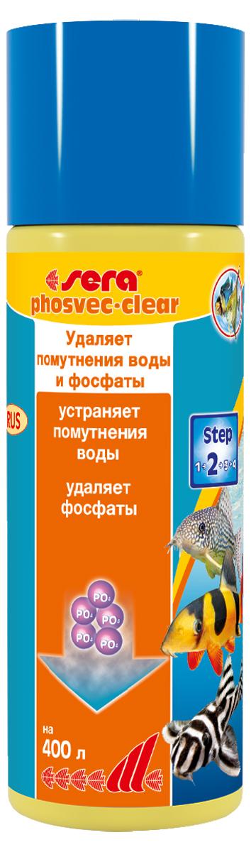 Средство для воды Sera Phosvec-Clear, 100 мл3390Кристально прозрачная вода без фосфатов: - Устраняет минеральное помутнение воды - Удаляет фосфаты – одно из основных питательных веществ для водорослей - Для чистой, кристально прозрачной воды Минеральные вещества, так же как и мертвый органический материал (детрит), могут вызывать помутнение аквариумной воды. Это может дополнительно увеличить концентрацию фосфатов в воде и, таким образом, способствовать разрастанию водорослей. sera PHOSVEC-CLEAR немедленно связывает частицы, вызывающие помутнение воды и, таким образом, делает возможным улавливание их фильтром. В тоже время он удаляет излишки фосфатов, чем предотвращает разрастание водорослей. Для постоянно чистой, кристально прозрачной воды.