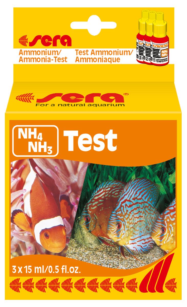 """Тест для воды Sera """"NH4/NH3-Test"""", 15 мл"""
