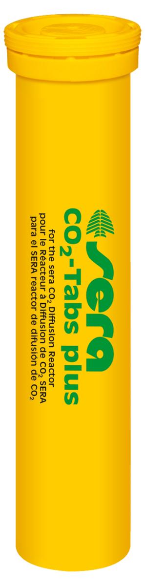 Таблетки Sera CO2-Tabs для реактора CO2-Start, 20 шт8040Таблетки Sera CO2-Tabs предназначены для удобрения растений углекислым газом. Находящиеся в таблетках микроэлементы и питательные вещества предотвращают появление их дефицита у растений. Поместите 1 таблетку в Sera реактор растворения СО2. Сразу после этого произойдет выделение около 100 мл (приблизительно 2500 пузырьков) чистого углекислого газа (для удобрения растений этого достаточно более чем на 8 часов). При использовании следуйте инструкции Sera реактора СО2.