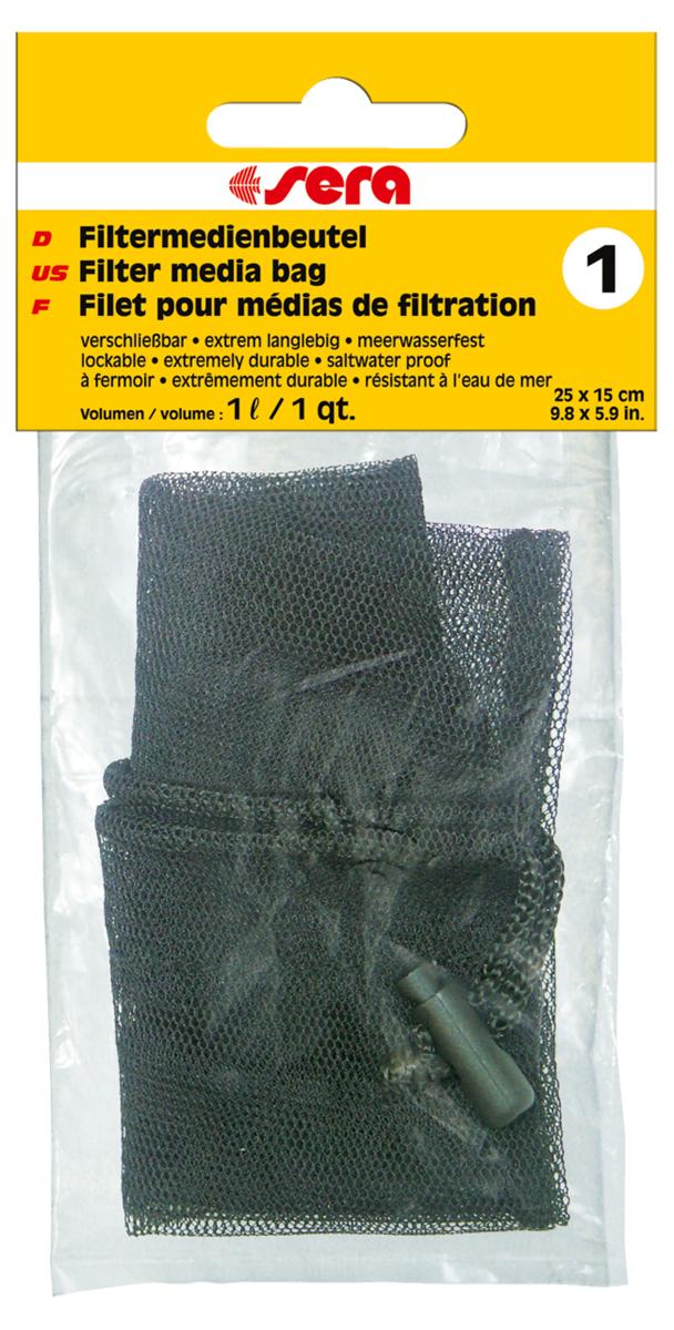 Сменный мешочек Sera №1, для фильтрующих наполнителей8493Мешочек для фильтрующих материалов: активированного угля, материалов для биологической фильтрации, торфа и т.п. Для многократного использования.
