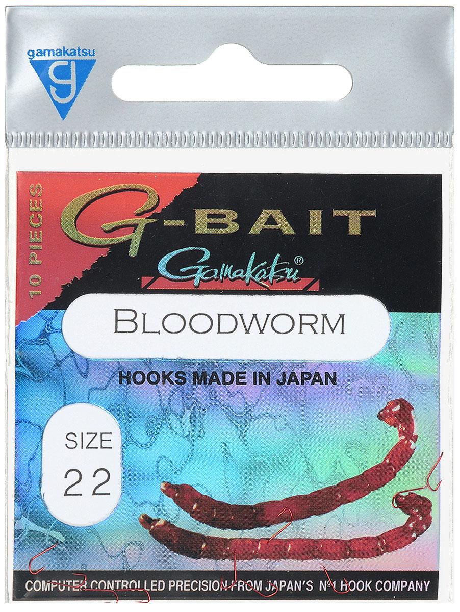 Крючок рыболовный Gamakatsu G-Bait. Bloodworm, №22, 10 штG-Bait № 22Крючок Gamakatsu G-Bait. Bloodworm - это крючок с лопаткой, удлиненным цевьем и острым изгибом. Выполненные из высококачественной стали, крючки на 20% надежнее и мощнее по сравнению с большинством аналогов. Такой крючок идеален для мотыля. Размер крючка: №22. Вид крепления: лопатка. Количество штук в упаковке: 10 штук.