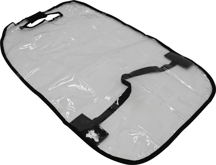 Накидка на сиденье Rexxon, цвет: прозрачный3-8-2-1-1Защитная накидка на спинку сиденья, 60х45 мм. Выполнена из морозостойкой плёнки ПВХ.