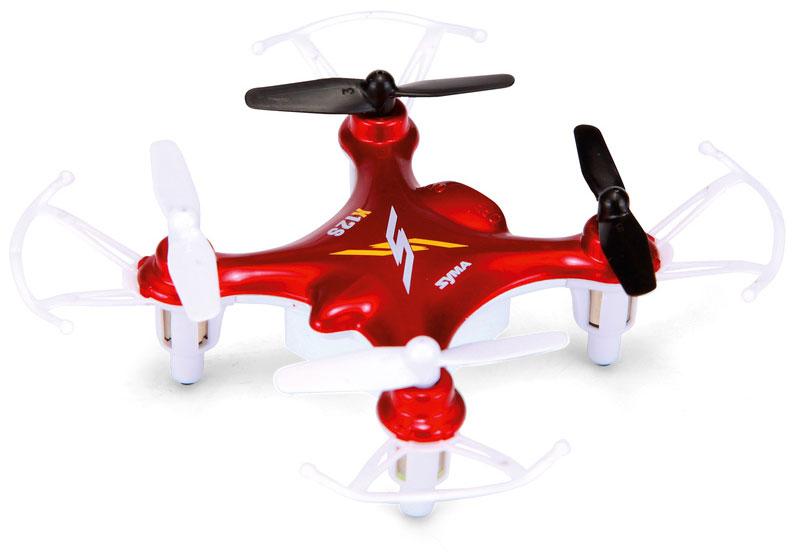 Syma Квадрокоптер на радиоуправлении X12s цвет красныйX12S redКвадрокоптер на радиоуправлении Syma X12S - это самый маленький квадрокоптер от Syma X12S Nano и создан для полетов в помещании, но его структура позволяет запускать квадрокоптер на открытом воздухе в безветренную погоду. Модели радиоуправляемых квадрокоптеров Syma отличаются стабильностью полета и X12S не исключение.Квадрокоптер X12S имеет 6-ти осевую систему стабилизации, что делает не только полет стабильным, но и позволяет выпрямиться из любого положения. X12S можно заставить зависнуть на месте. Четырехосевая структура делает квадрокоптер более гибким и быстрым при полете. Потрясающие светодиодные эффекты сделают впечатляющим и эффективным полет в темное время суток.
