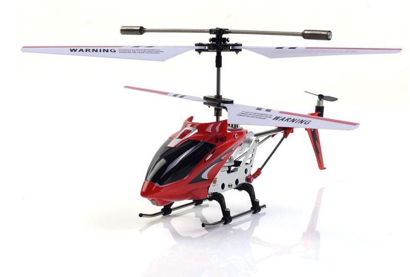 Syma Вертолет на радиоуправлении S107G цвет красныйS107G redРадиоуправляемый вертолет SYMA S107G — превосходная игрушка для начинающих пилотов. Он сохраняет устойчивость в полете, отзывчивый на команды с пульта и маневренный. Эти качества достигаются за счет встроенного гироскопа и трехканальной системы управления. Движения вперед и назад обеспечивает задний винт, смещающий центр тяжести. Также игрушка может вращаться вокруг своей оси.
