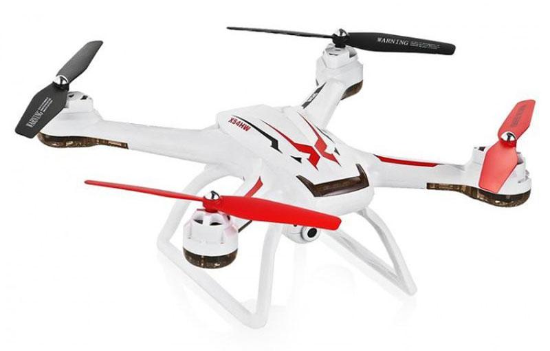 Syma Квадрокоптер на радиоуправлении X54HW цвет белыйX54HW whiteКвадрокоптер X54HW с WIFI камерой и барометром пришел на смену легендарному X5SW. Отличительной чертой новой линии квадрокоптеров от фирмы Syma стало добавления барометрического датчика для удерживания нужной высоты во время зависания в воздухе, что способствует более качественной съемки и плавного движения. Мгновенно происходит возврат квадрокоптера в линию горизонта. Прямая трансляция по WiFi в режиме реального времени позволяет наблюдать с высоты за происходящим, передача происходит на телефон или планшет. 6-ти осевой гироскоп делает полет более безопасным, управление - легким, а небольшой ветер перестает быть помехой. Также гироскоп повышает стабильность полета. В нем также присутствует функция Headless mode, что позволяет с легкостью определить, где передняя и хвостовая часть. Развороты на 360 градусов по оси и различные воздушные трюки - все это возможно при помощи простого нажатия кнопок и джойстика на пульте управления. Яркие светодиодные бортовые огни помогут вам проще...