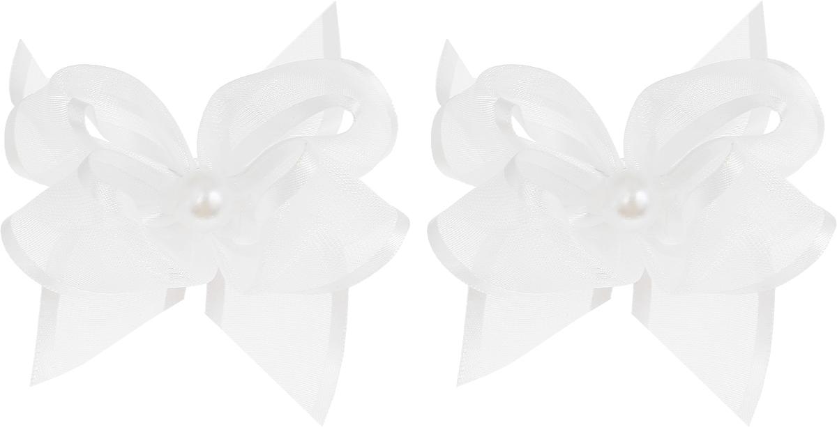 Baby's Joy Резинка для волос цвет белый 2 шт MN 76/2