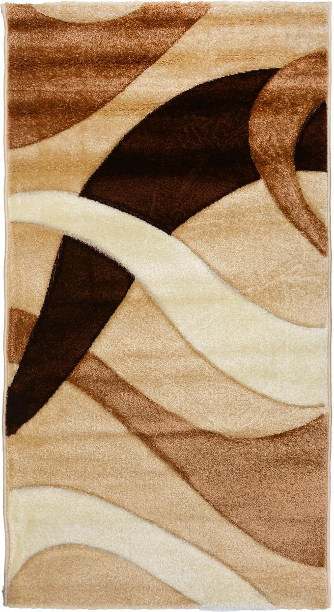 Ковер Mutas Carpet Панда, прямоугольный, цвет: бежевый, коричневый, 80 х 150 см203420130212184148Ковер Mutas Carpet Панда изготовлен из прочного синтетического материала heat-set, улучшенного варианта полипропилена (эта нить получается в результате его дополнительной обработки). Полипропилен износостоек, нетоксичен, не впитывает влагу, не провоцирует аллергию. Структура волокна в полипропиленовых коврах гладкая, поэтому грязь не будет въедаться и скапливаться на ворсе. Практичный и износоустойчивый ворс не истирается и не накапливает статическое электричество. Ковер обладает хорошими показателями теплостойкости и шумоизоляции. Оригинальный рисунок позволит гармонично оформить интерьер комнаты, гостиной или прихожей. За счет невысокого ворса ковер легко чистить. При надлежащем уходе синтетический ковер прослужит долго, не утратив ни яркости узора, ни блеска ворса, ни упругости. Самый простой способ избавить изделие от грязи - пропылесосить его с обеих сторон (лицевой и изнаночной). Влажная уборка с применением шампуней и...