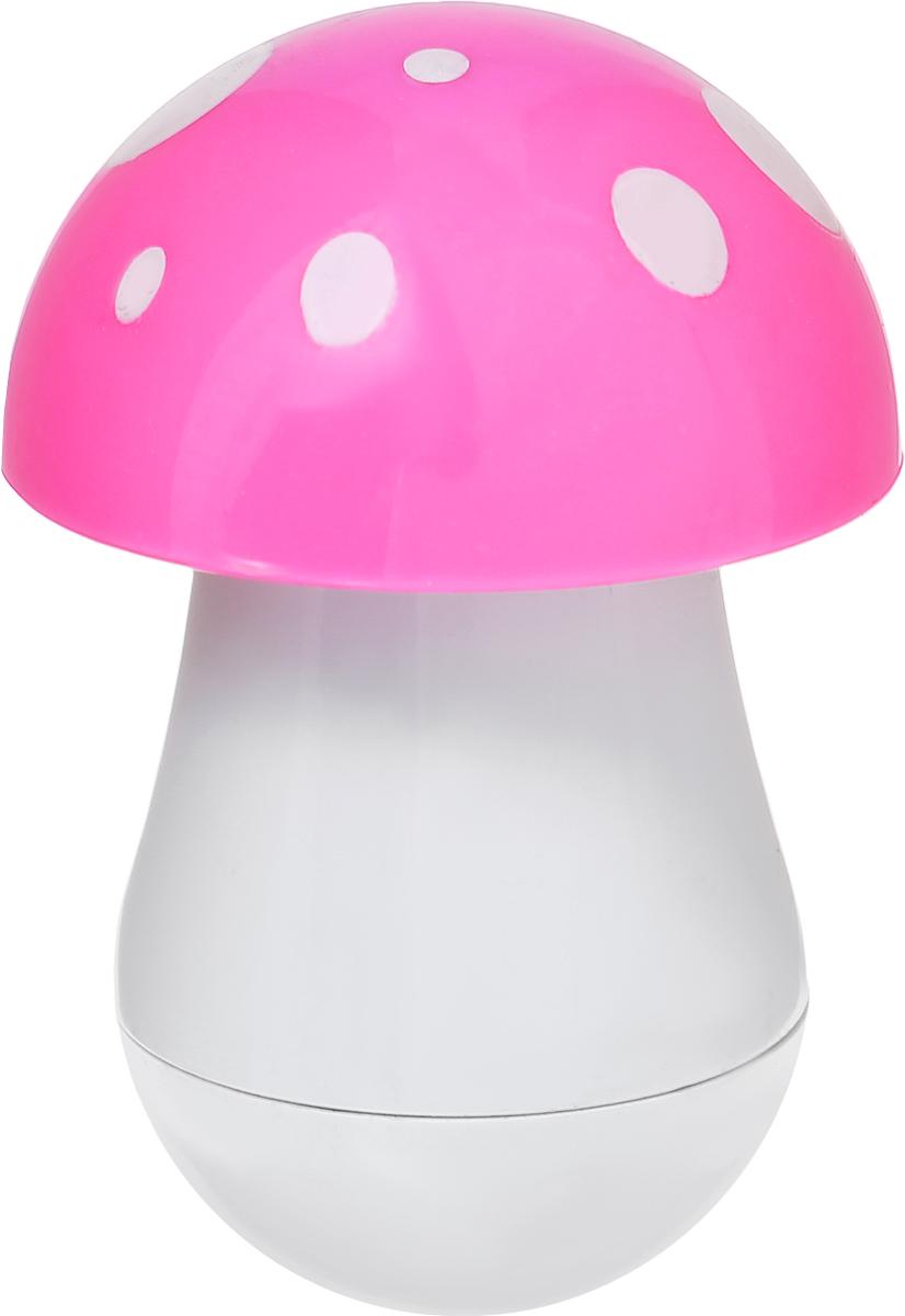 Эврика Ручка шариковая Гриб цвет шляпки розовый96546Миниатюрная ручка в виде яркого мухомора имеет телескопическое сложение, приятную округлую форму и удобный карманный формат. В собранном виде ручка может служить миниатюрным настольным сувениром. Стержень синего цвета, несменяемый. Такая ручка станет отличным подарком и незаменимым аксессуаром, она удивит и порадует любителей необычной канцелярии.