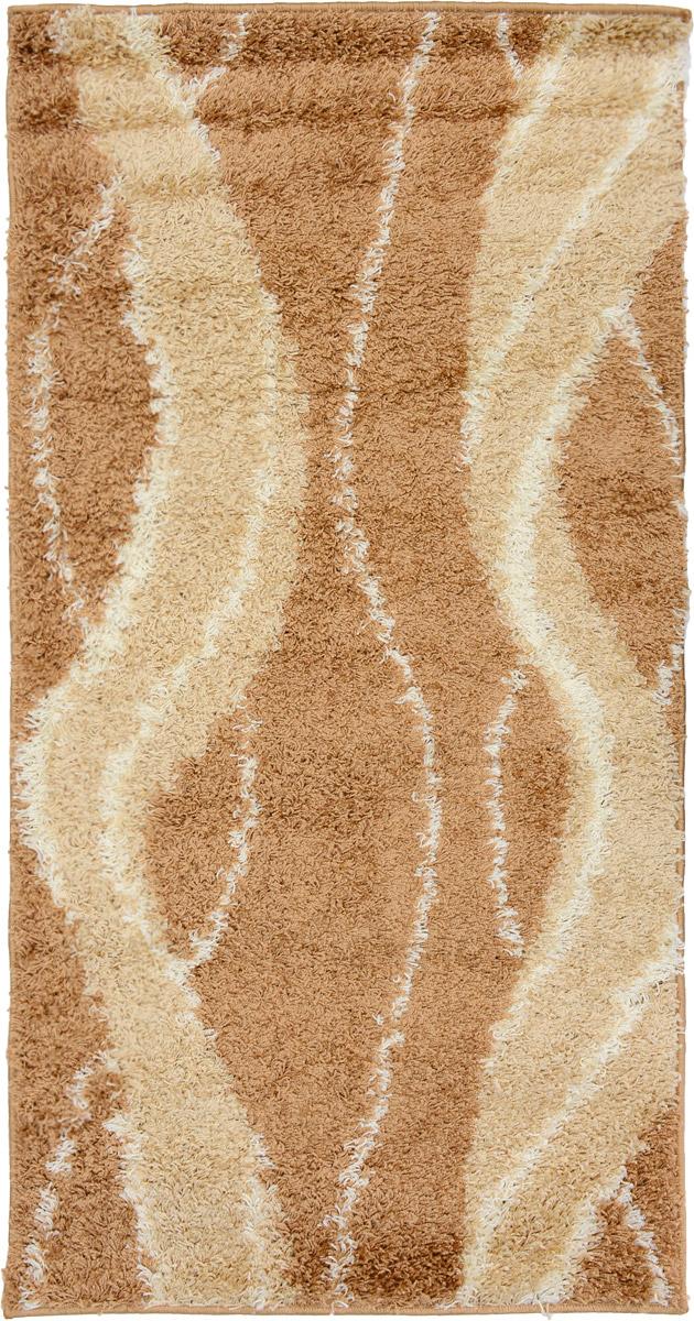 Ковер Mutas Carpet Shaggy Fashion, прямоугольный, цвет: бежевый, слоновая кость, 80 х 150 см203420130212175365Ковер Mutas Carpet Shaggy Fashion изготовлен из прочного полипропилена. Полипропилен износостоек, нетоксичен, не впитывает влагу, не провоцирует аллергию. Структура волокна в полипропиленовых коврах гладкая, поэтому грязь не будет въедаться и скапливаться на ворсе. Практичный и износоустойчивый ворс не истирается и не накапливает статическое электричество. Ковер обладает хорошими показателями теплостойкости и шумоизоляции. Оригинальный рисунок позволит гармонично оформить интерьер комнаты, гостиной или прихожей. За счет невысокого ворса ковер легко чистить. При надлежащем уходе синтетический ковер прослужит долго, не утратив ни яркости узора, ни блеска ворса, ни упругости. Самый простой способ избавить изделие от грязи - пропылесосить его с обеих сторон (лицевой и изнаночной). Влажная уборка с применением шампуней и моющих средств не противопоказана. Хранить рекомендуется в свернутом рулоном виде.