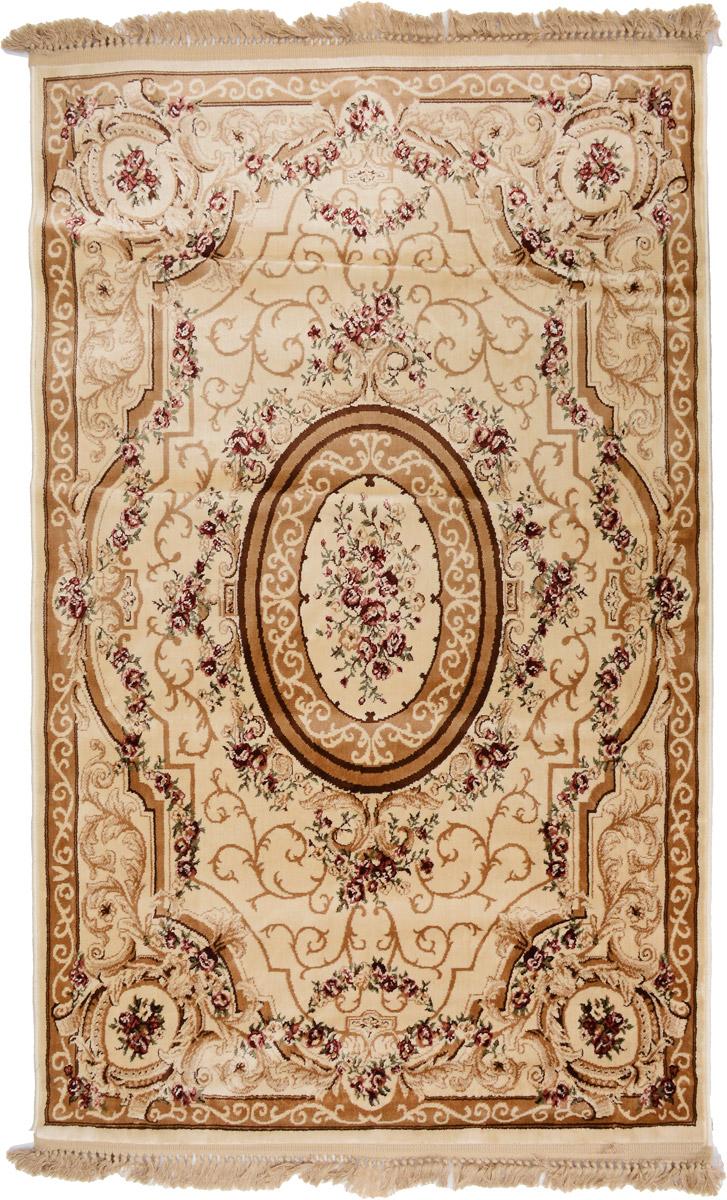 Ковер Mutas Carpet Everest Kurban, прямоугольный, цвет: бежевый, коричневый, зеленый, 120 х 180 см203420130212183952Ковер Mutas Carpet Everest Kurban изготовлен из прочного полипропилена. Полипропилен износостоек, нетоксичен, не впитывает влагу, не провоцирует аллергию. Структура волокна в полипропиленовых коврах гладкая, поэтому грязь не будет въедаться и скапливаться на ворсе. Практичный и износоустойчивый ворс не истирается и не накапливает статическое электричество. Ковер обладает хорошими показателями теплостойкости и шумоизоляции. Оригинальный рисунок позволит гармонично оформить интерьер комнаты, гостиной или прихожей. За счет невысокого ворса ковер легко чистить. При надлежащем уходе синтетический ковер прослужит долго, не утратив ни яркости узора, ни блеска ворса, ни упругости. Самый простой способ избавить изделие от грязи - пропылесосить его с обеих сторон (лицевой и изнаночной). Влажная уборка с применением шампуней и моющих средств не противопоказана. Хранить рекомендуется в свернутом рулоном виде.