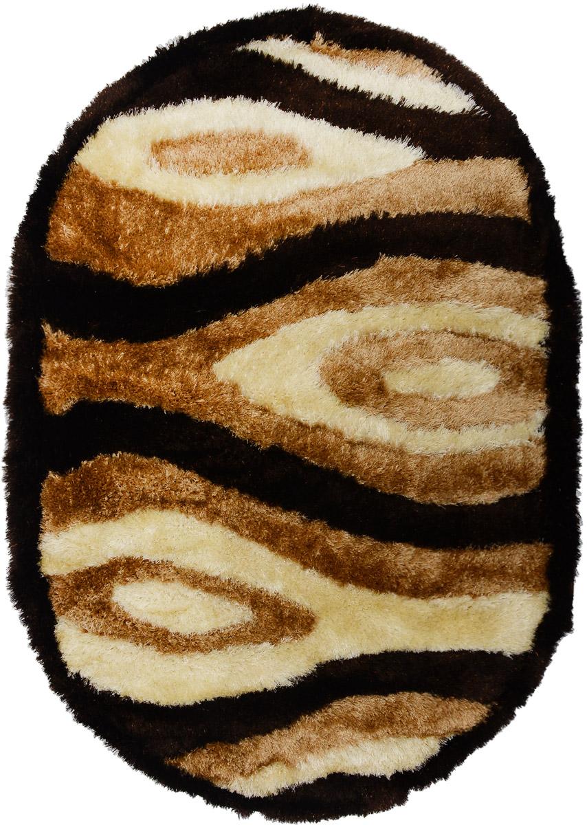 Ковер Mutas Carpet Anatolia Cotton Fashion, овальный, цвет: коричневый, темно-коричневый, бежевый, 120 х 180 см203420130212173756Ковер Ковер Mutas Carpet Anatolia Cotton Fashion прекрасно подойдет для любого интерьера. Изделие изготовлено из полиэстера 50%, микрофибры 30% и букле 20%. За счет прочного ворса ковер легко чистить. При надлежащем уходе синтетический ковер прослужит долго, не утратив ни яркости узора, ни блеска ворса, ни упругости. Самый простой способ избавить изделие от грязи - пропылесосить его с обеих сторон (лицевой и изнаночной). Влажная уборка с применением шампуней и моющих средств не противопоказана. Хранить рекомендуется в свернутом рулоном виде.