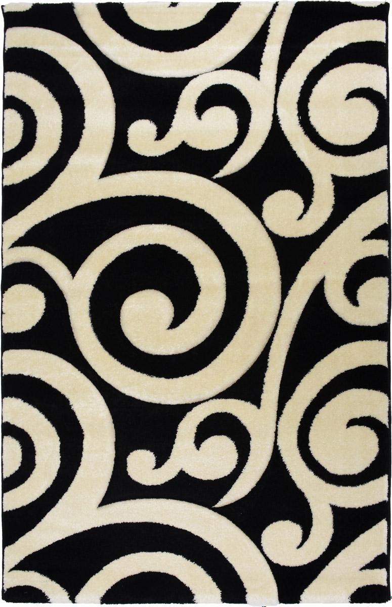 Ковер Mutas Carpet Панда, прямоугольный, цвет: черный, белый, 120 х 180 см203420130212175190Ковер Mutas Carpet Панда изготовлен из прочного синтетического материала heat-set, улучшенного варианта полипропилена (эта нить получается в результате его дополнительной обработки). Полипропилен износостоек, нетоксичен, не впитывает влагу, не провоцирует аллергию. Структура волокна в полипропиленовых коврах гладкая, поэтому грязь не будет въедаться и скапливаться на ворсе. Практичный и износоустойчивый ворс не истирается и не накапливает статическое электричество. Ковер обладает хорошими показателями теплостойкости и шумоизоляции. Оригинальный рисунок позволит гармонично оформить интерьер комнаты, гостиной или прихожей. За счет невысокого ворса ковер легко чистить. При надлежащем уходе синтетический ковер прослужит долго, не утратив ни яркости узора, ни блеска ворса, ни упругости. Самый простой способ избавить изделие от грязи - пропылесосить его с обеих сторон (лицевой и изнаночной). Хранить рекомендуется в свернутом...