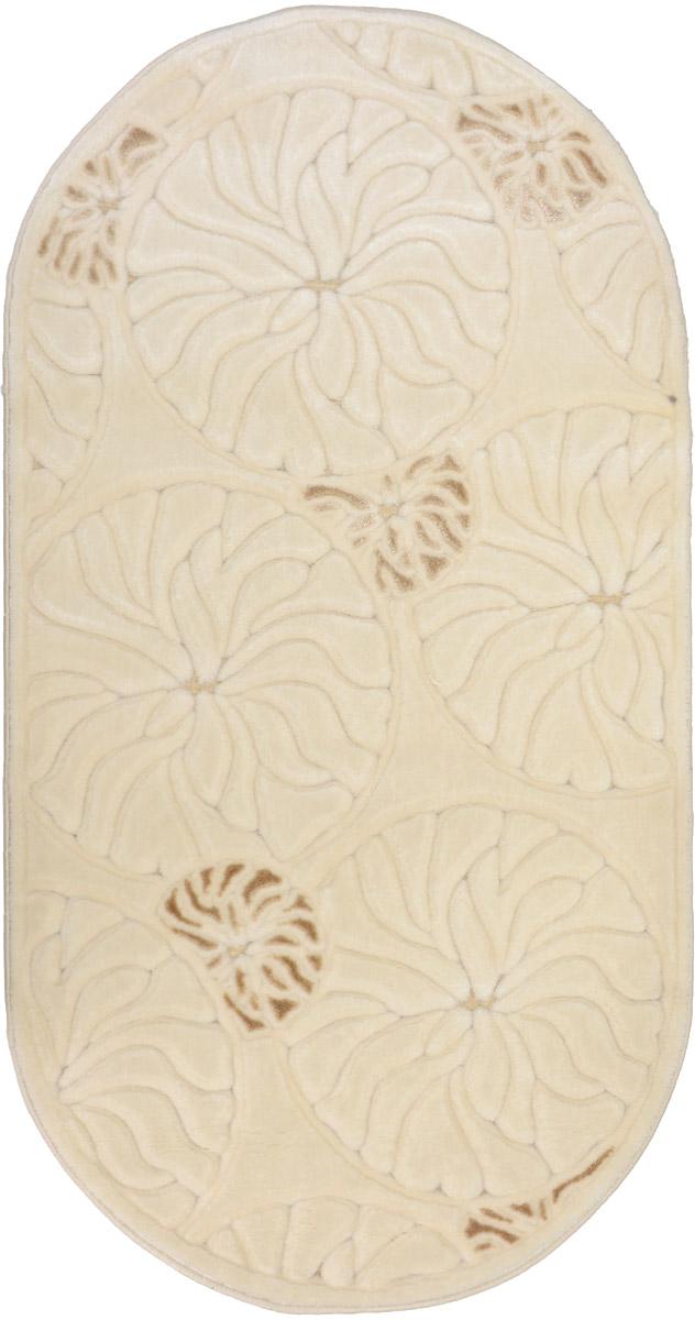 Ковер Mutas Carpet Жаде, овальный, 78 х 150 см203420130212174994Ковер Mutas Carpet Жаде изготовлен из 100% акрила. Структура волокна гладкая, поэтому грязь не будет въедаться и скапливаться на ворсе. Практичный и износоустойчивый ворс не истирается и не накапливает статическое электричество. Ковер обладает хорошими показателями теплостойкости и шумоизоляции. Оригинальный рисунок позволит гармонично оформить интерьер комнаты, гостиной или прихожей. За счет невысокого ворса ковер легко чистить. Самый простой способ избавить изделие от грязи - пропылесосить его с обеих сторон (лицевой и изнаночной). Хранить рекомендуется в свернутом рулоном виде.