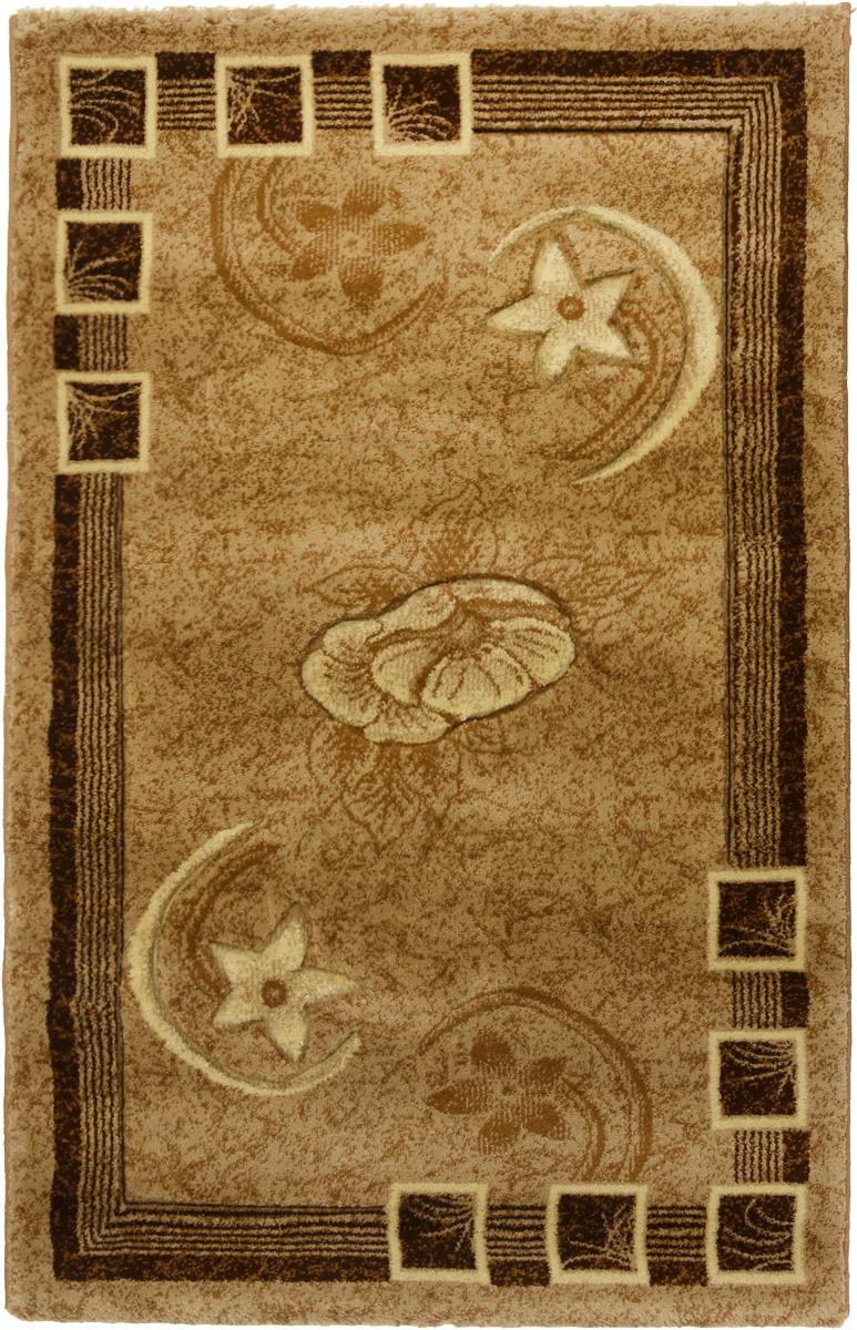 Ковер Mutas Carpet Карвинг, прямоугольный, 80 х 125 см700027Ковер Mutas Carpet Карвинг изготовлен из полипропилена. Структура волокна гладкая, поэтому грязь не будет въедаться и скапливаться на ворсе. Практичный и износоустойчивый ворс не истирается и не накапливает статическое электричество. Ковер обладает хорошими показателями теплостойкости и шумоизоляции. Оригинальный рисунок позволит гармонично оформить интерьер комнаты, гостиной или прихожей. За счет невысокого ворса ковер легко чистить. Самый простой способ избавить изделие от грязи - пропылесосить его с обеих сторон (лицевой и изнаночной). Хранить рекомендуется в свернутом рулоном виде.