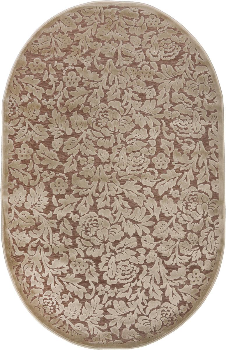 Ковер ART Carpets Платин, овальный, 120 х 180 см. 203420130212182871203420130212182871Ковер ART Carpets Платин изготовлен из акрила. Структура волокна гладкая, поэтому грязь не будет въедаться и скапливаться на ворсе. Практичный и износоустойчивый ворс не истирается и не накапливает статическое электричество. Ковер обладает хорошими показателями теплостойкости и шумоизоляции. Оригинальный рисунок позволит гармонично оформить интерьер комнаты, гостиной или прихожей. За счет невысокого ворса ковер легко чистить. При надлежащем уходе ковер прослужит долго, не утратив ни яркости узора, ни блеска ворса, ни упругости. Самый простой способ избавить изделие от грязи - пропылесосить его с обеих сторон (лицевой и изнаночной). Хранить рекомендуется в свернутом рулоном виде.