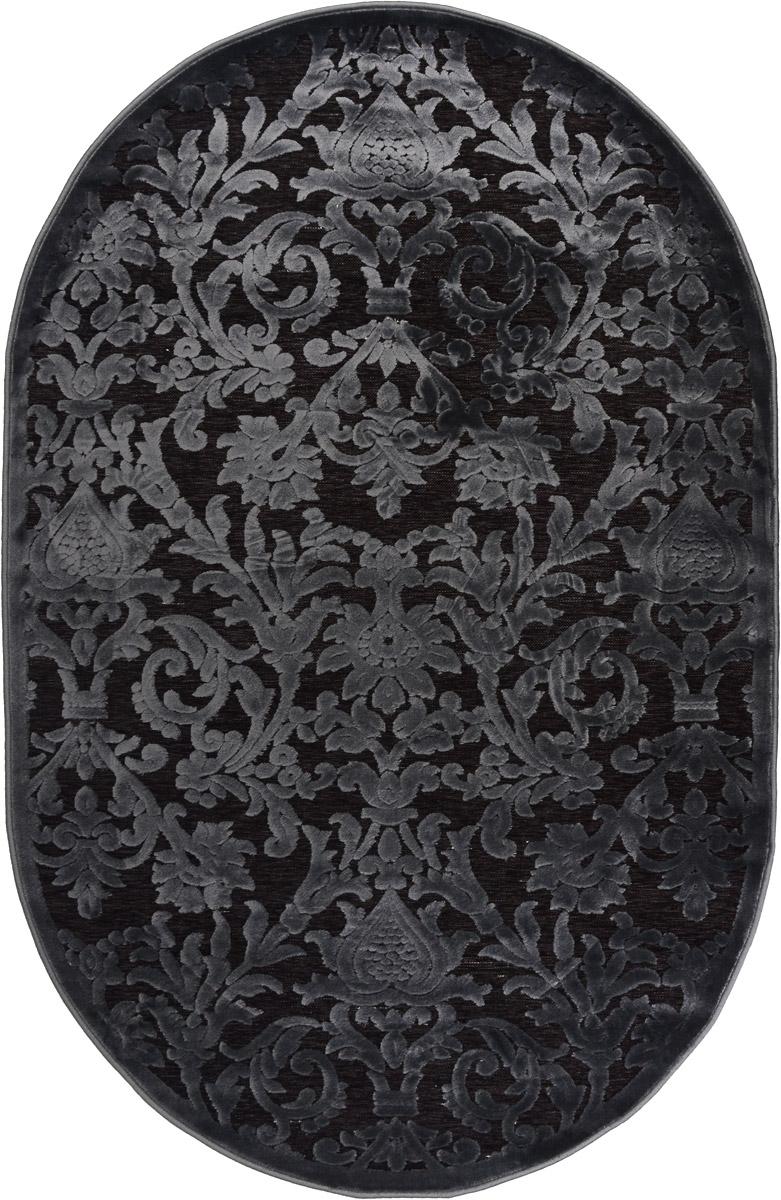 Ковер ART Carpets Платин, овальный, цвет: серо-зеленый, 120 х 180 см203420130212182851Ковер ART Carpets Платин изготовлен из 100% акрила. Структура волокна гладкая, поэтому грязь не будет въедаться и скапливаться на ворсе. Практичный и износоустойчивый ворс не истирается и не накапливает статическое электричество. Ковер обладает хорошими показателями теплостойкости и шумоизоляции. Оригинальный рисунок позволит гармонично оформить интерьер комнаты, гостиной или прихожей. За счет невысокого ворса ковер легко чистить. При надлежащем уходе ковер прослужит долго, не утратив ни яркости узора, ни блеска ворса, ни упругости. Самый простой способ избавить изделие от грязи - пропылесосить его с обеих сторон (лицевой и изнаночной). Хранить рекомендуется в свернутом рулоном виде.