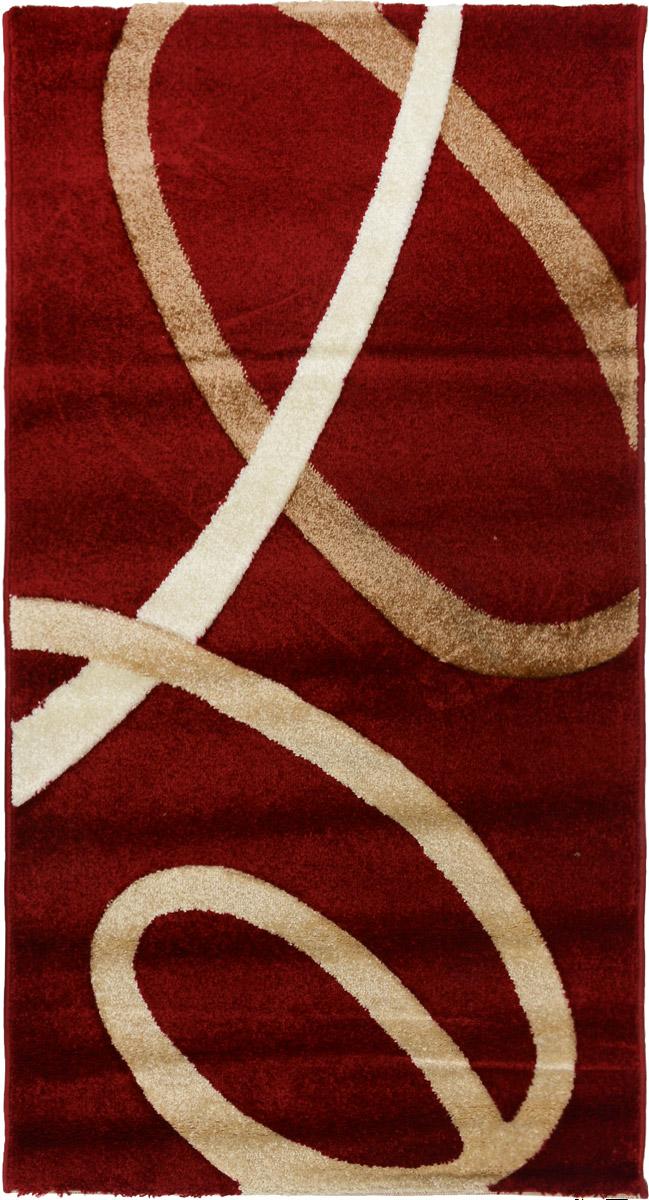 Ковер Mutas Carpet Панда, прямоугольный, цвет: красный, бежевый, 80 х 150 см203420130212184144Ковер Mutas Carpet Панда изготовлен из прочного синтетического материала heat-set, улучшенного варианта полипропилена (эта нить получается в результате его дополнительной обработки). Полипропилен износостоек, нетоксичен, не впитывает влагу, не провоцирует аллергию. Структура волокна в полипропиленовых коврах гладкая, поэтому грязь не будет въедаться и скапливаться на ворсе. Практичный и износоустойчивый ворс не истирается и не накапливает статическое электричество. Ковер обладает хорошими показателями теплостойкости и шумоизоляции. Оригинальный рисунок позволит гармонично оформить интерьер комнаты, гостиной или прихожей. За счет невысокого ворса ковер легко чистить. При надлежащем уходе синтетический ковер прослужит долго, не утратив ни яркости узора, ни блеска ворса, ни упругости. Самый простой способ избавить изделие от грязи - пропылесосить его с обеих сторон (лицевой и изнаночной). Влажная уборка с применением шампуней и...