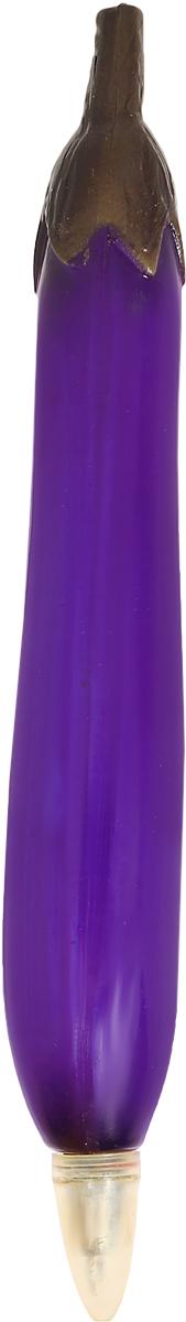 Эврика Ручка шариковая Баклажан90611Изобретение середины XX века, не утратившее своей актуальности по сей день, - шариковая ручка с оригинальной формой полимерного корпуса. Необходимая офисная и бытовая принадлежность и прекрасный сувенир для любителей необычной канцелярии. На корпусе ручки Эврика Баклажан имеется магнит, с помощью которого вы можете прикрепить ручку на любую металлическую поверхность.