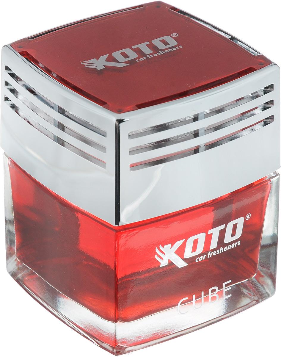 Ароматизатор автомобильный Koto Cube. Morning Fresh, гелевый, 50 млFSH-1602Автомобильный ароматизатор Koto Cube. Morning Fresh эффективно устраняет неприятные запахи и придает легкий приятный аромат. Сочетание формулы геля с парфюмами наилучшего качества обеспечивает устойчивый запах. Кроме того, ароматизатор обладает элегантным дизайном, поэтому будет гармонично смотреться в салоне любого автомобиля. Благодаря удобной конструкции, его можно установить в любое место, например, на панель, под сиденье или в двери. Крепится ароматизатор с помощью двусторонней наклейки (входит в комплект). Ароматизатор имеет продолжительный срок службы - до 60 дней. Его можно использовать не только в автомобиле, но и в домашних условиях.