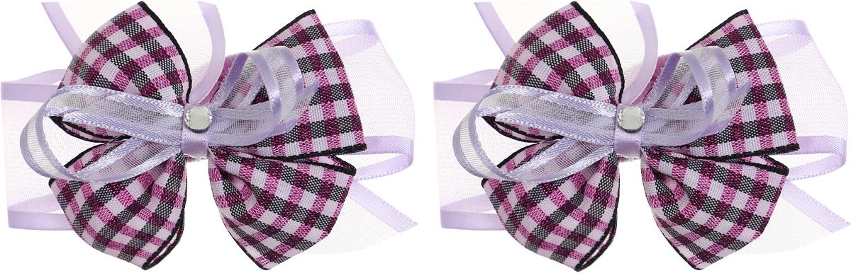 Babys Joy Бант Школа цвет фиолетовый черный розовый 2 шт