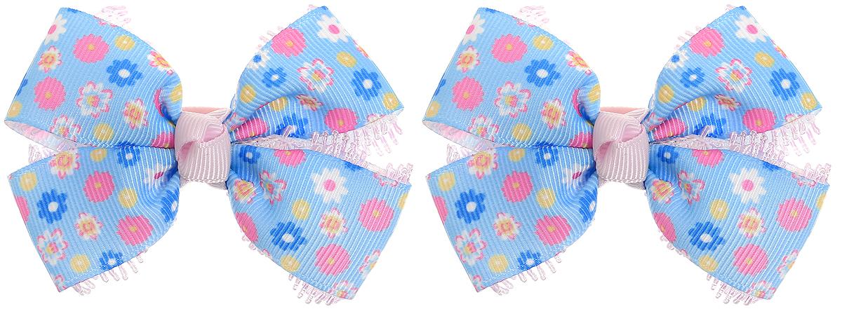 Babys Joy Резинка для волос Бант Школа цвет голубой синий розовый 2 штMN 134/2_голубой, синий, розовый, цветыРезинки для волос Babys Joy Бант. Школа изготовлены из декоративных лент с мелким цветочным принтом и кружевной тесьмы, завязанных в милый бант. Резинка для волос Babys Joy надежно зафиксирует волосы и подчеркнет красоту прически вашей маленькой модницы. В комплектации - 2 резинки. Рекомендовано для детей старше трех лет.