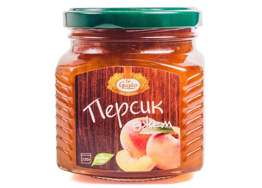 te Gusto Джем из персиков, 330 г
