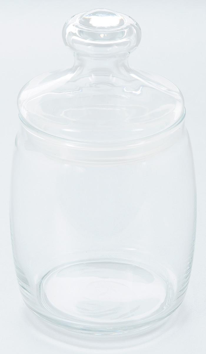 Банка Pasabahce Cesni, с крышкой, 940 мл97560BБанка Pasabahce Cesni выполнена из прочного натрий-кальций-силикатного стекла. Банка оснащена стеклянной плотно прилегающей крышкой с силиконовым кольцом для полной герметичности. В такой банке удобно хранить крупы, специи, орехи и многое другое. Функциональная и практичная, такая банка станет незаменимым аксессуаром на вашей кухне. Объем банки: 940 мл. Диаметр банки (по верхнему краю): 9 см. Размер банки (с учетом крышки): 10 см х 10 см х 18,5 см. Диаметр основания: 8 см.