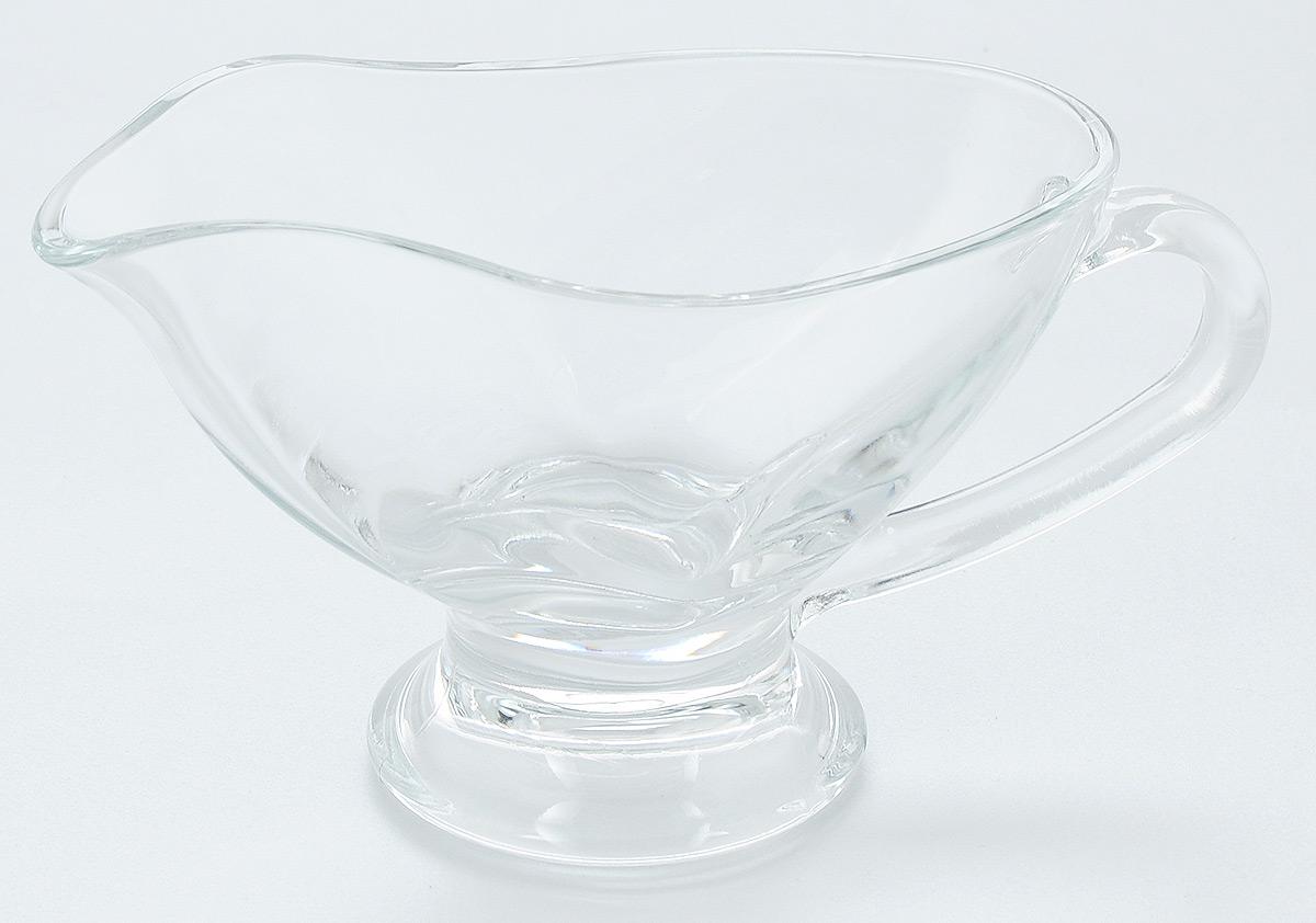 Соусник Pasabahce Basic, 250 мл55022BСоусник Pasabahce Basic изготовлен из прочного натрий-кальций-силикатного стекла. Благодаря этому соуснику вы всегда сможете красиво и эстетично подать соус к столу. Изделие придется по вкусу и ценителям классики, и тем, кто предпочитает утонченность и изящность. Можно мыть в посудомоечной машине и использовать в микроволновой печи. Размер соусника (по верхнему краю): 16 х 8,8 см.