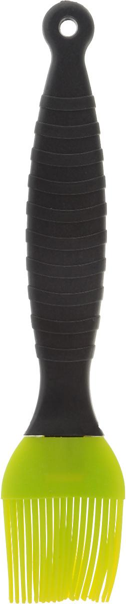 Кисть кулинарная Mayer & Boch, цвет: салатовый, черный, длина 20 см20060_салатовый/черныйКисть кулинарная Mayer & Boch, цвет: салатовый, черный, длина 20 см