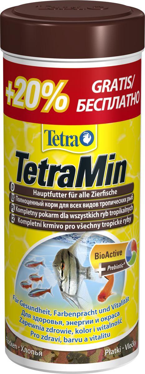 """Корм Tetra """"TetraMin"""", для всех видов рыб, хлопья, 300 мл 762718A"""