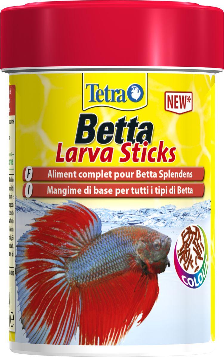 Корм Tetra Betta Larva Sticks, для петушков и других лабиринтовых рыб, в форме мотыля, 100 мл259386Betta Larva Sticks – это прекрасный мимикрический корм для петушков и других лабиринтовых рыб. Форма, размер и цвет имитируют настоящего мотыля для наиболее подходящего кормления петушков. Это палочки удобного размера, плавающие по поверхности воды. Помимо высококачественных ингредиентов поедаемость обеспечивает также движение по поверхности воды. Дополнительные преимущества Betta Larva Sticks: Сбалансированное кормление на каждый день Хорошая усвояемость для меньшего загрязнения воды Креветки как компонент, улучшающий поедаемость Запатентованная формула Patented BioActive для оптимального здоровья Точное содержание необходимых витаминов и питательных веществ поддерживает иммунную систему рыбок Минералы, включая микроэлементы, как необходимые питательные вещества Высокое содержание белка и омега-3 жирных кислот для энергии и роста Содержит каротиноиды для усиления естественной окраски сиамских бойцовых рыб