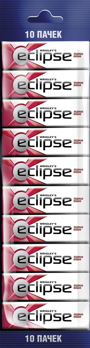 Eclipse Ледяная вишня жевательная резинка без сахара, 10 пачек по 13,6 г4009900448086Попробуйте по-настоящему ледяную свежесть. Жевательная резинка Eclipse Ледяная вишня освежает дыхание и придает уверенности в общении. Уверены в дыхании - уверены в себе! Уважаемые клиенты! Обращаем ваше внимание, что полный перечень состава продукта представлен на дополнительном изображении.